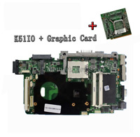 For ASUS K51IO X66IC K61IC Motherboard REV:2.1 Motherboard + 1GB Graphic Card