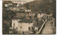 1929 Molina di Quosa Castello Guller Pisa destinazione Genova FP B/N VG ANIM