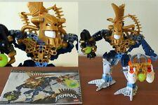 Rare Limited Edition Lego Piraka Bionicle 8626 Irnakk Gold Thok Spine 2006 Cheap