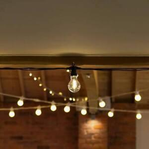 ConnectPro 5-50m Outdoor Festoon Filament LED Lights | Globe Bulb Garden
