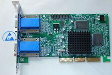 Matrox Millenium G450 DualHead G45+ MDHA16DLXB Grafikkarte AGP VGA graphic card