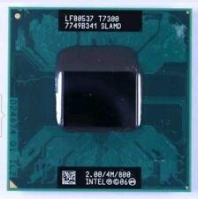 Intel Core 2 Duo T7300 2.0GHz 4M 800Mhz Laptop CPU SLAMD/SLA45