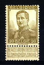 BELGIUM - BELGIO - 1912 - Re Alberto I (1875 - 1934, reg. 1909)