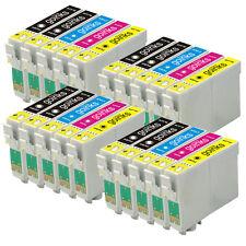 20 Cartouche d'encre pour Epson Stylus DX4400 DX7400 SX100 SX400 SX405