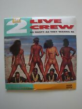 2 Live Crew Record As Nasty As They Wanna Be ***BRAND NEW IN SHRINK WRAP***
