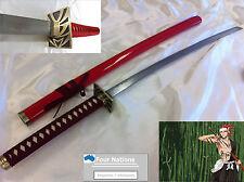 Anime BLEACH RENJI ABARAI SWORD/Katana w/ Single Sword Stand