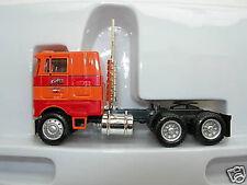 Herpa Promotex Peterbilt Tractor Cabover Farley Orange 1/87