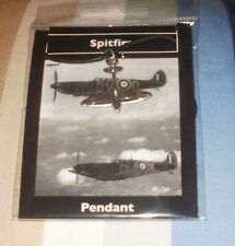 Spitfire Pendant. WW2 RAF 1940 Battle of Britain Royal Air Force World War Two
