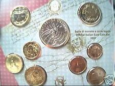 2007 9 monete 8,88 EURO fdc ITALIA BU ITALIE ITALY KMS ITALIEN Италия Italië