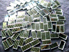 50 Mosaic MIRROR Tiles 2cm x 1cm For Easy Borders