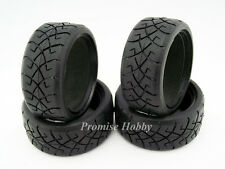 26mm X-pattern rubber tire set for 1/10 Tamiya on road rc car -4 pcs