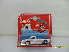 '50's - '60's ???? CORVETTE COCA COLA WHITE 1/64 BY MAJORETTE  SC. b53