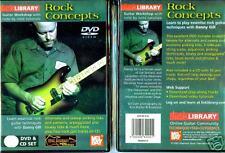 Lick Library -  Rock Concepts - NEW DVD & CD Set