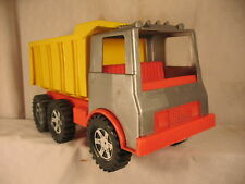 BIG TOY DUMP TRUCK AMLOID VINTAGE OLD MADE IN U.S.A. SADDLE BROOK NEW JERSEY