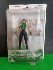 JUSTICE LEAGUE   THRONE OF ATLANTIS   MERA   ACTION FIGURE   #12   NEW OLD STOCK