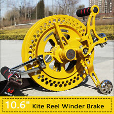 Single Line Kite Reel Winder with Brake System Lockable for Outdoor Activities