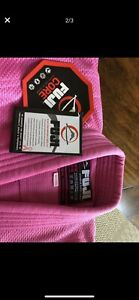 Fuji Core - Size WC00. Girls Pink. Thick Gi
