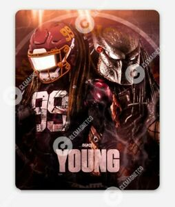 CHASE YOUNG Predator MAGNET -Washington Football Team Redskins NFL Logo WFT