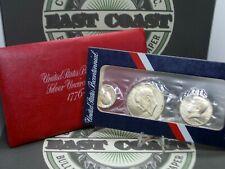 "1776-1976 ""S"" U.S. Bicentennial 40% SILVER Uncirculated (3 Coin) ECC&C, Inc."