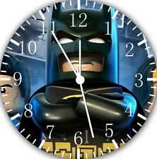 "Lego Batman wall Clock 10"" will be nice Gift and Room wall Decor E30"