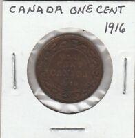 (U)  Token - Canada - One Cent - 1916