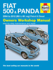 Fiat 500 & Fiat Panda 2004-2012 Haynes Manual 5558 Nuevo