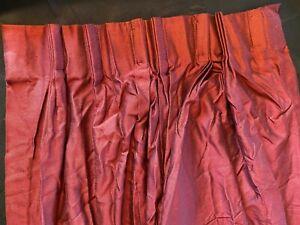 "JC Penny Custom Drapes 5 Panels Lined Pinch Pleat 23"" to 45"" W x 84"" L"