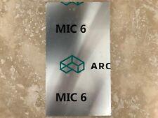 Mic 6 Arconicalcoa Cast Aluminum Tooling Plate 14 X 12 18 X 6 1316