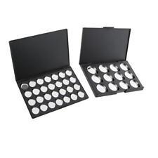 2 pz cosmetico vuoto palette magnetica make up box ombretto correttore