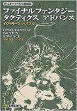 Japan Final Fantasy Tactics Advance Ivalice Bible