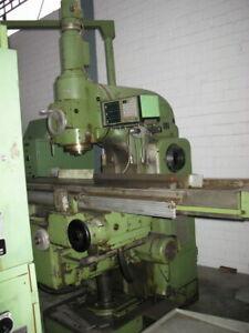 Vertikal Fräsmaschine Fritz Werner FV4