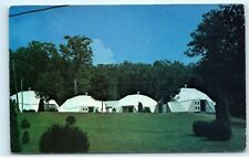 Dome Bunks Camp Comet for Boys Waynesboro Pennsylvania Vintage Postcard B06