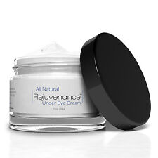 REJUVENANCE - Natural Under Eye Cream: Removes Dark Circles Lines Bags Wrinkles
