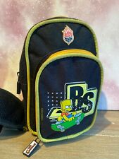 The Simpsons Bart Simpson Sling Side Man Flight Travel Pouch ManBag Stash Bag