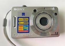 SONY Cybershot MPEGMOVIE VX DSC-W55 7.2 Mega Pixels Camera Recorder
