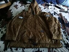 Authentic GRUNT STYLE WOODIE JACKET, PULLOVER, 3XL, 100% POLYESTER, MADE IN USA