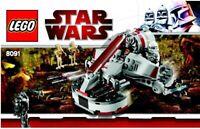 LEGO - STAR WARS -  - 8091 - INSTRUCTIONS!