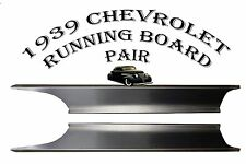 1939 Chevrolet Chevy Car Steel Running Board Set 39 All Models - Made in USA