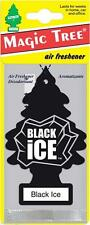 5 X BLACK ICE MAGIC TREE AIR FRESHENER CAR HOME VAN OFFICE TOILET TAXI MINI CAB
