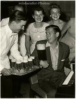 Johnny Ray in Frankfurt am Main, Original-Photo von 1957