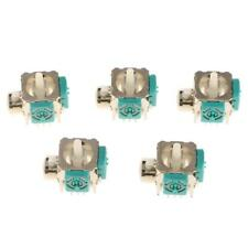 5 Pieces Analog Stick Replacement 3D Rocker for XBOX 360 Controllers E Type