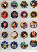 POWER RANGERS TOYS Complete set Tazos Pogs Collection Figures - Mighty Morphin