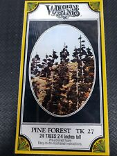 "Woodland Scenics Pine Forest 24 Trees. 2-4"" tall  TK27"