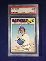 1977 Topps Don Money #79 PSA 9 Milwaukee Brewers