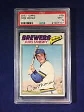 1977 Topps Don Money #79 PSA 9 Milwaukee Brewers