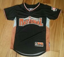 5101524b760 Boys Youth Majestic All Star Game Baseball Jersey Medium M 2007 National  League