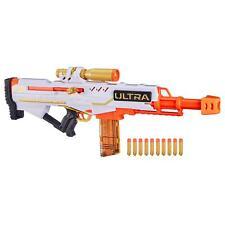 NERF Ultra Pharaoh Blaster Premium Gold Accents 10 Dart Clip Kids Gun Toy Gift