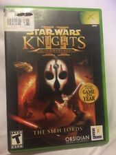Star Wars: Knights of the Old Republic II -- The Sith Lords (Microsoft Xbox, 20…