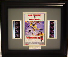 007 YOU ONLY LIVE TWICE FRAMED FILM CELL JAMES BOND