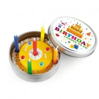 DONKEY Candle To Go Birthday Pocket Candle In Tin - AU STOCK